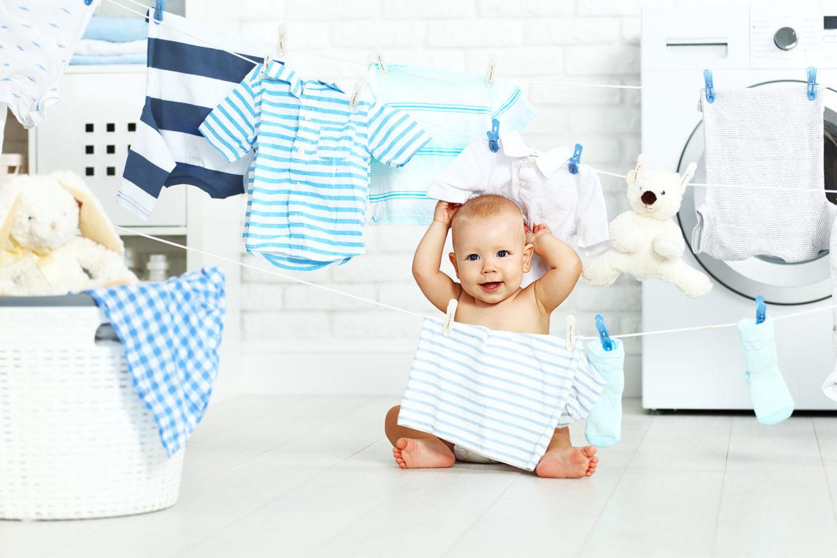 Kako do nježne i čiste dječje odjeće?