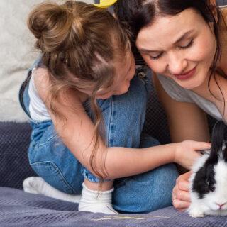 Jesu li zečevi prikladni kućni ljubimci za djecu?
